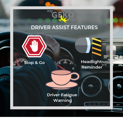 DRIVER ASSIST FEATURES